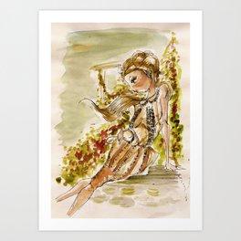 Mon Jardin-(Bora Aksu) Art Print