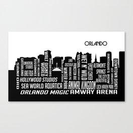Skyline Orlando Canvas Print