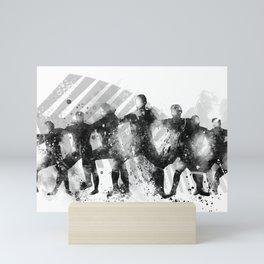 The Haka Mini Art Print