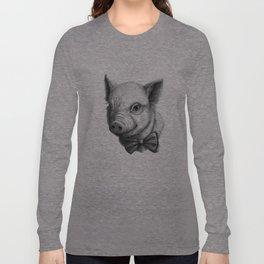 BowTie Piglet G136 Long Sleeve T-shirt