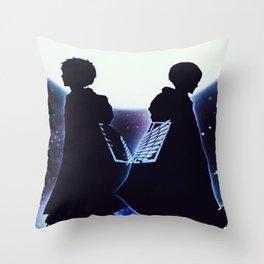 Attack On Titan Silhouette Throw Pillow