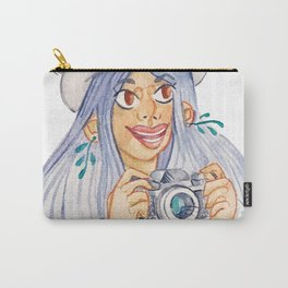 A Tourist Carry-All Pouch