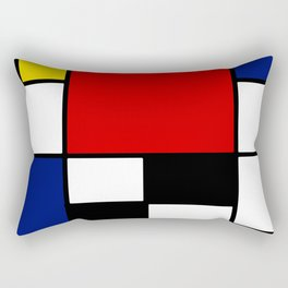 Piet Mondrian Rectangular Pillow