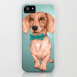 Dachshund, The Wiener Dog iPhone Case