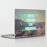 explore Laptop & iPad Skins featuring EXPLORE by AA Morgenstern
