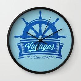 Voyager Wall Clock