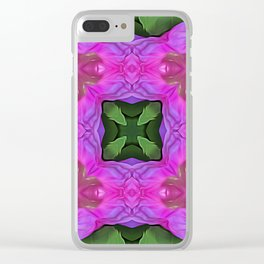Flowers of Synchrony Clear iPhone Case