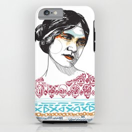 Boho Raven iPhone Case