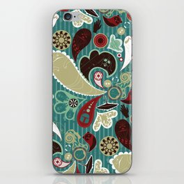 A Long Time Ago In A Paisley Far Far Away iPhone Skin