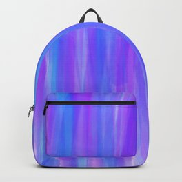 Moonlight Blue Purple and Fuschia Watercolor Backpack