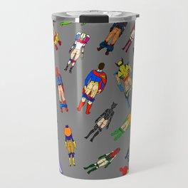 Butt of Superhero Villian - Dark Travel Mug
