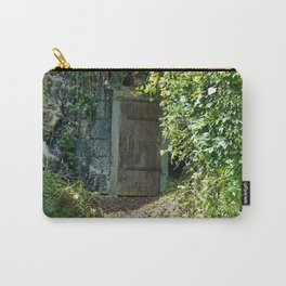 Hidden Doorway in Saumur, France Carry-All Pouch