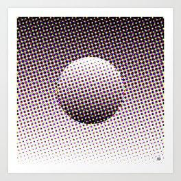 HalftoneII/ Art Print
