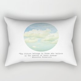 The beauty of the dreams Rectangular Pillow
