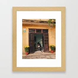 Vietnam Bungalow Framed Art Print