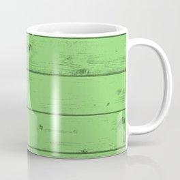 Green Wood Texture Coffee Mug