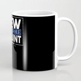 I Sew Therefore I Squint Coffee Mug