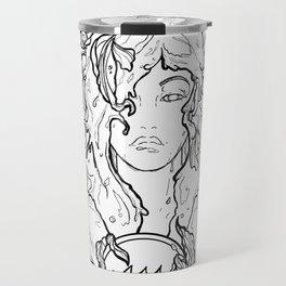 Zodiac Series   Aquarius Travel Mug