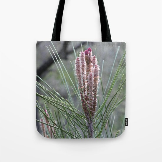 Blossoming Pine Tote Bag