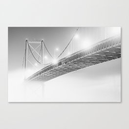 Floating in the Fog Canvas Print