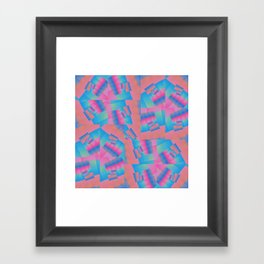 Colour Patch Framed Art Print
