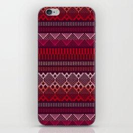 Weave (brown) iPhone Skin