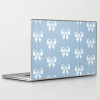 bows Laptop & iPad Skins featuring Bows by Pink Berry Patterns