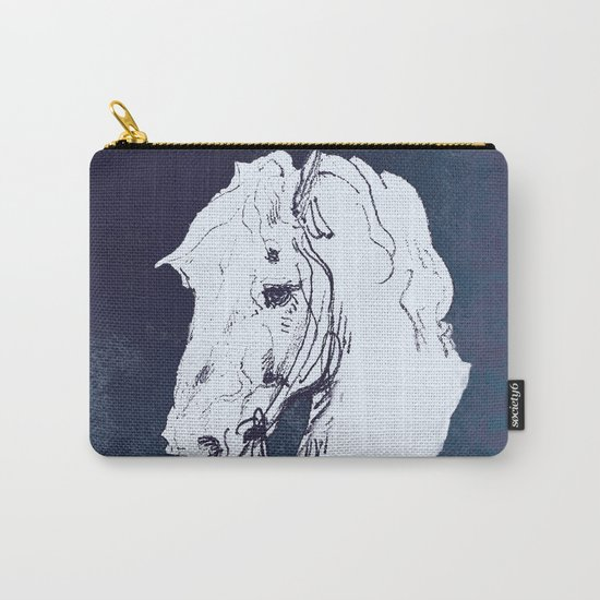 Blue Carry-All Pouch