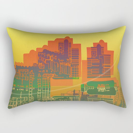 Station / Spatial Factor 19-12-16 Rectangular Pillow