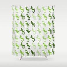 Lizards Shower Curtain
