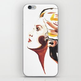 Catherine Deneuve iPhone Skin