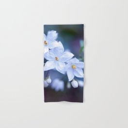 Jasmine Nightshade Flowers #3 #floral #art #society6 Hand & Bath Towel