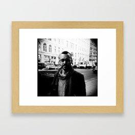 NYC holga portraits 3 Framed Art Print