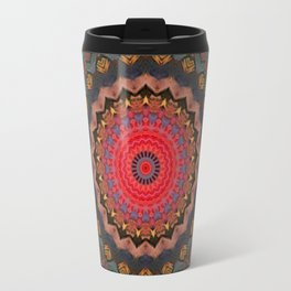 Basal Color Mandala 2 Travel Mug