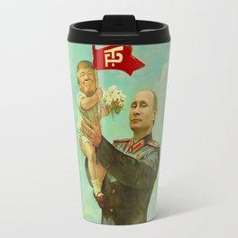 Trump Putin Travel Mug