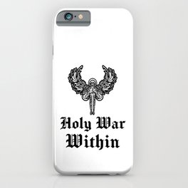 Holy war within iPhone Case