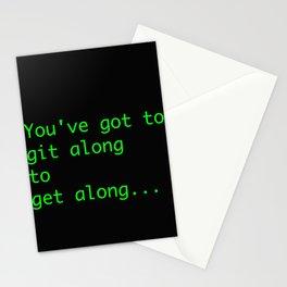 git along Stationery Cards