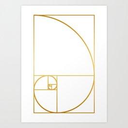 That's Golden I Art Print