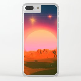 The Distance Between Us Clear iPhone Case