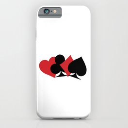 """A Nice Spend Tee For A Wealthy You Saying """"One Can Never Spend Too Much Time Playing Bridge"""" T-shirt iPhone Case"""