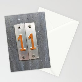 one by two  Stationery Cards