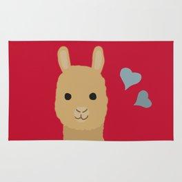 Cute alpaca Rug