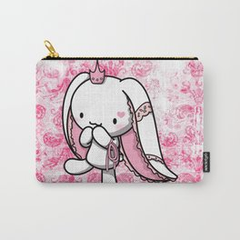 Princess of Hearts White Rabbit Carry-All Pouch