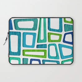 Mid Century Boxy Abstract Laptop Sleeve