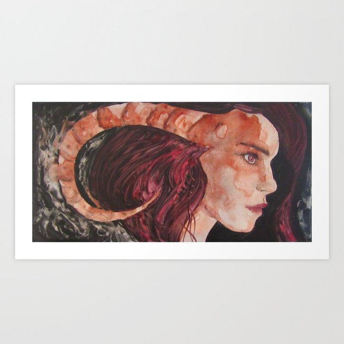 Princess Oblivia Art Print