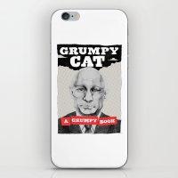 GRUMPY AS THE CAT  iPhone & iPod Skin