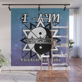 I AM - Philosopher King Wall Mural
