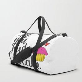 Cupcake Lover Duffle Bag