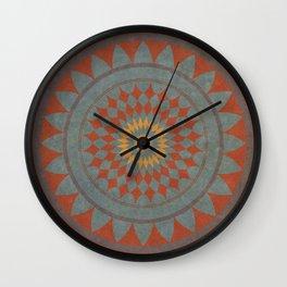 Maroon I Wall Clock