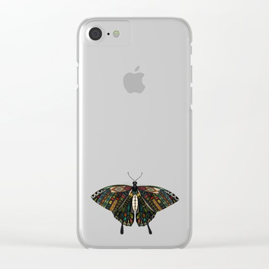 swallowtail butterfly citron Clear iPhone Case